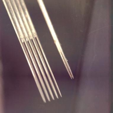 Needles.